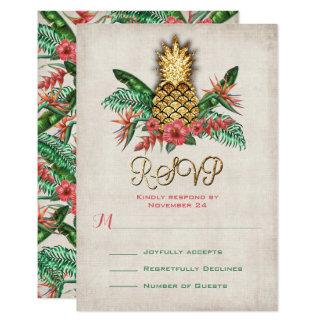 Tropische Ananas UAWG-Karten Karte
