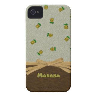 Tropische Ananas und Bogen-kundengerechte iPhone 4 Cover