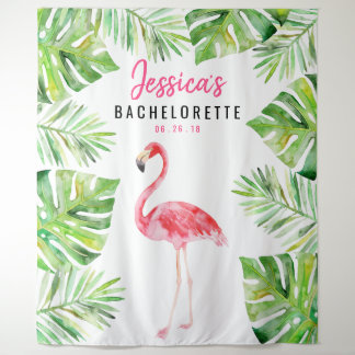 Tropical Bachelorette Backdrop Photo Prop