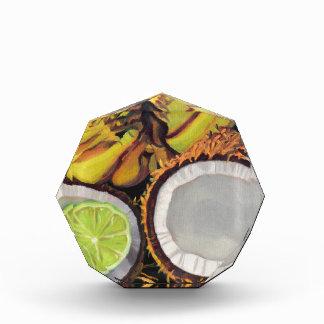 Tropische Bananen-Kokosnuss Limon Auszeichnung
