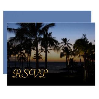 Tropische Bestimmungsort UAWG-Karten 8,9 X 12,7 Cm Einladungskarte