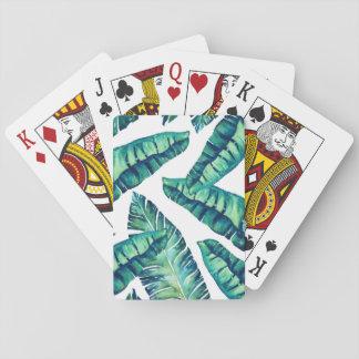 Tropische bezaubernde Spielkarte