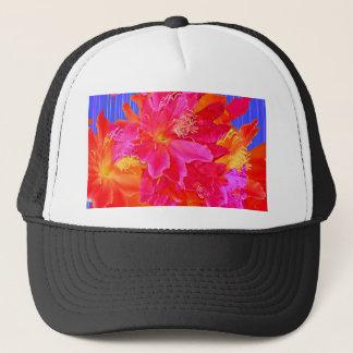 Tropische Blumen-Wasser-Kunst durch Sharles feine Truckerkappe