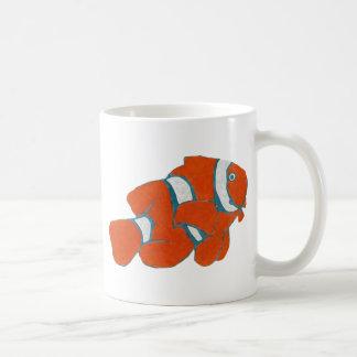 tropische Clownfische Kaffeetasse