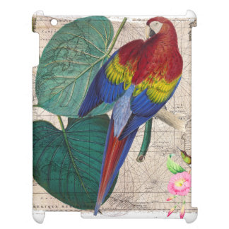 Tropische Collage iPad Hülle