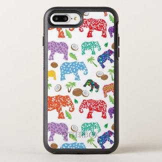 Tropische Elefanten OtterBox Symmetry iPhone 8 Plus/7 Plus Hülle