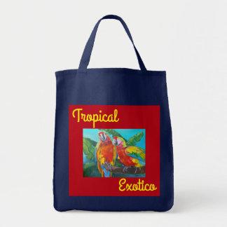 Tropische Exotico Tasche, i-Kunst und Entwürfe Tragetasche