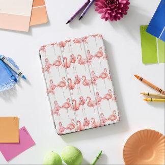 Tropische | Familie der Flamingos iPad Air Cover