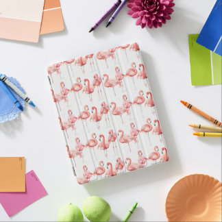 Tropische | Familie der Flamingos iPad Hülle