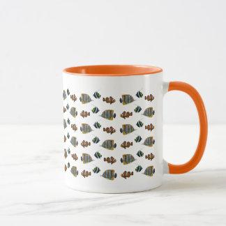 Tropische Fisch-Raserei-Tasse Tasse