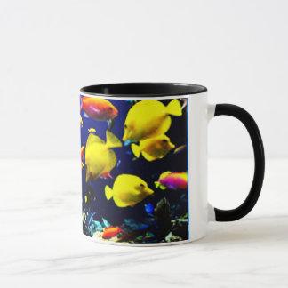 Tropische Fisch-Wecker-Tasse Tasse