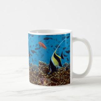 Tropische Fischdruckgeschenke Kaffeetasse
