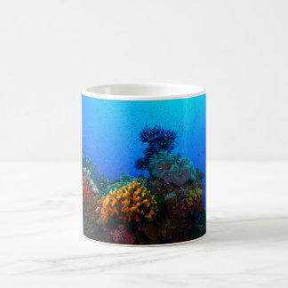 Tropische Fische auf dem Great Barrier Reef Kaffeetasse