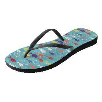 Tropische Fische Flip Flops