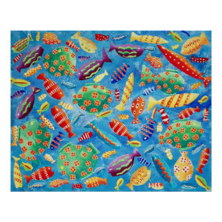 Tropische Fische Poster
