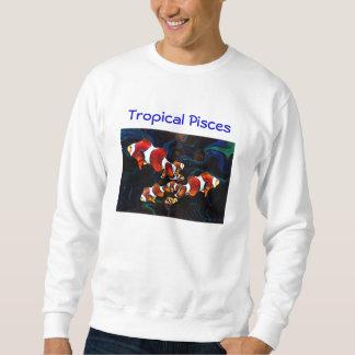 Tropische Fische Sweatshirt