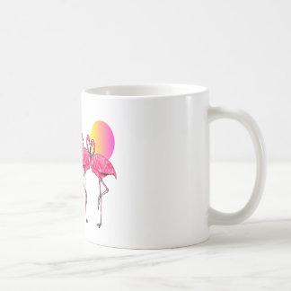 Tropische Flamingo-Kunst-Geschenke Kaffeetasse