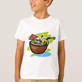 Tropische Frucht-Getränk der Kokosnuss-2 T-Shirt
