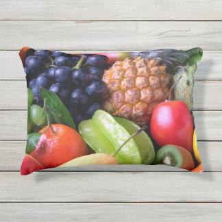 Tropische Frucht Kissen Für Draußen
