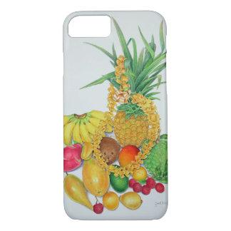 Tropische Frucht und Leu iPhone 8/7 Hülle