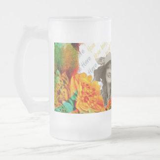 Tropische GrenzFotoschablone Teehaferl