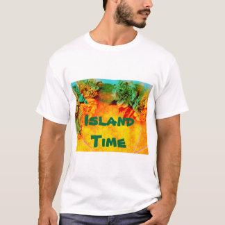 Tropische GrenzT - Shirtschablone T-Shirt
