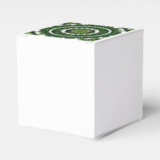 Tropische grüne Mandala Geschenkschachtel