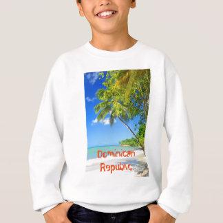 Tropische Insel in der Dominikanischen Republik Sweatshirt