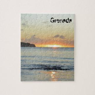 Tropische Insel in Grenada Puzzle