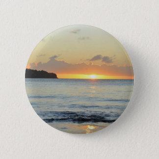 Tropische Insel in Grenada Runder Button 5,1 Cm