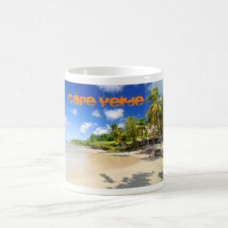 Tropische Insel in Kap-Verde Kaffeetasse