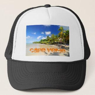 Tropische Insel in Kap-Verde Truckerkappe