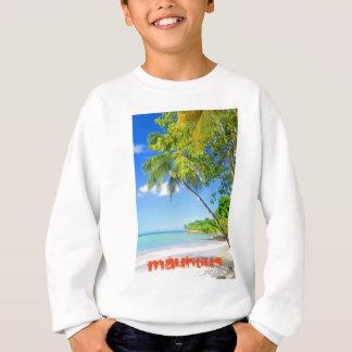 Tropische Insel in Mauritius Sweatshirt
