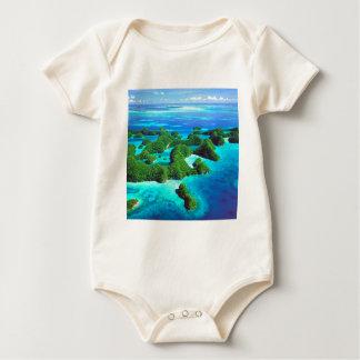 Tropische Insel-Republik Palau Baby Strampler