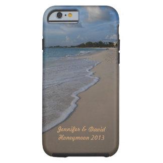 Tropische Insel-Strand-Hochzeit Tough iPhone 6 Hülle