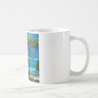 Tropische Insel-tropisches Entweichen Bahamas Kaffeetasse