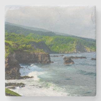 Tropische Klippen in Maui Hawaii Steinuntersetzer