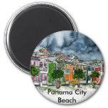 Tropische Kunstgeschenke Panama-Stadt Strand-Flori Magnete