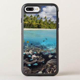 Tropische Lagune in SüdAri Atoll OtterBox Symmetry iPhone 8 Plus/7 Plus Hülle