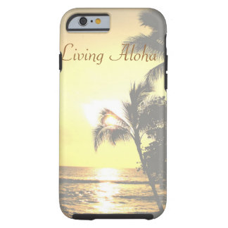 Tropische lebende Szene Hawaiis Aloha Tough iPhone 6 Hülle