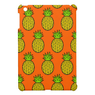 Tropische orange Ananas iPad Mini Hülle