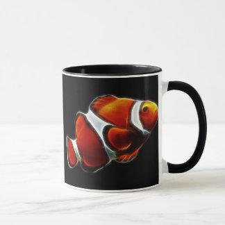 Tropische orange Clownfish Clown-Fische Tasse