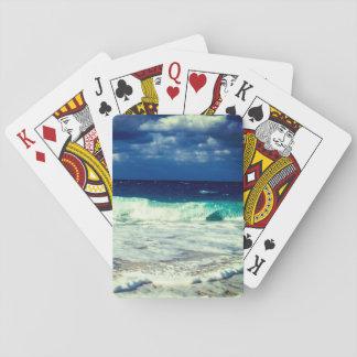 Tropische Ozean-Wellen Spielkarten