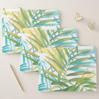 Tropische Palmblätter 2 Papiermappe