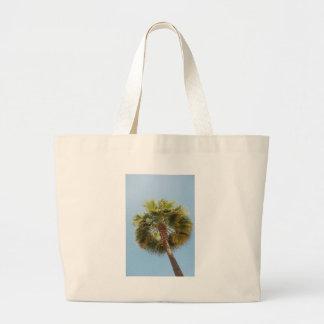 Tropische Palme Jumbo Stoffbeutel