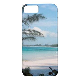 Tropische Palme und Ozean-Handy-Fall iPhone 8/7 Hülle