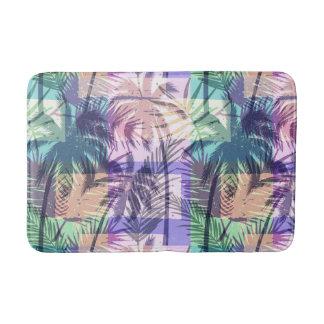 Tropische Palmen-Musterbadmatten Badematte