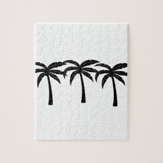 Tropische Palmen Puzzle