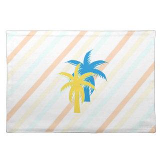 tropische Palmen Tischset