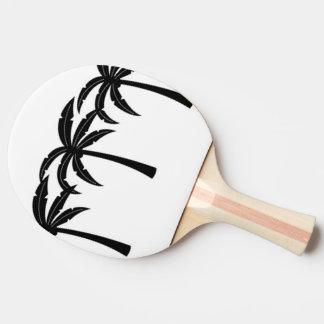 Tropische Palmen Tischtennis Schläger